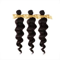 Top Grade 10A High Quality Brazilian Virgin Remy Hair Extensions Brazilian Wavy 3 bundles/lot on sal