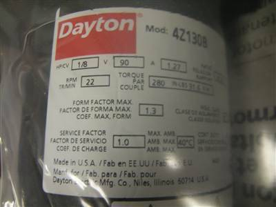 American Dayton DC Motors Industrial Gearboxes Remote Controls Hydraulic Cylinders AC Motors