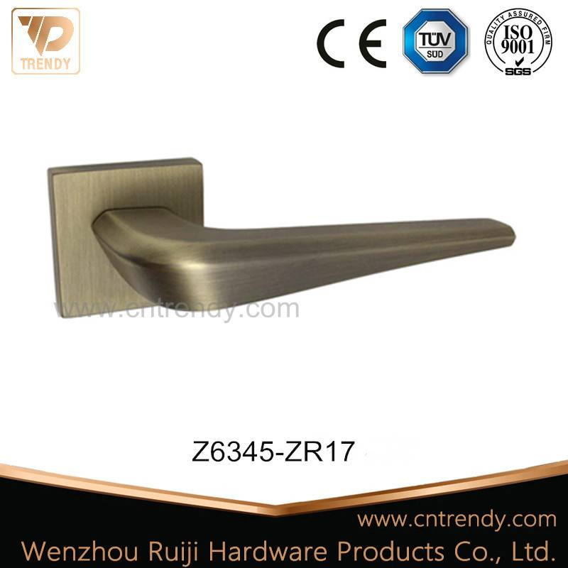 New Design 2016 Antique Brass Zinc Alloy Door Lever Handle (Z6345-ZR17)