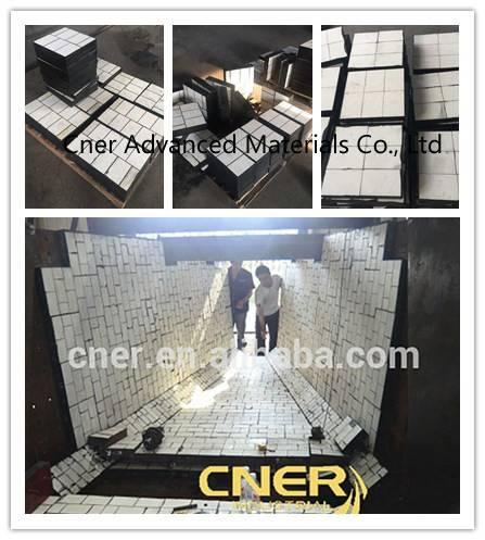Engineered ceramic rubber liner