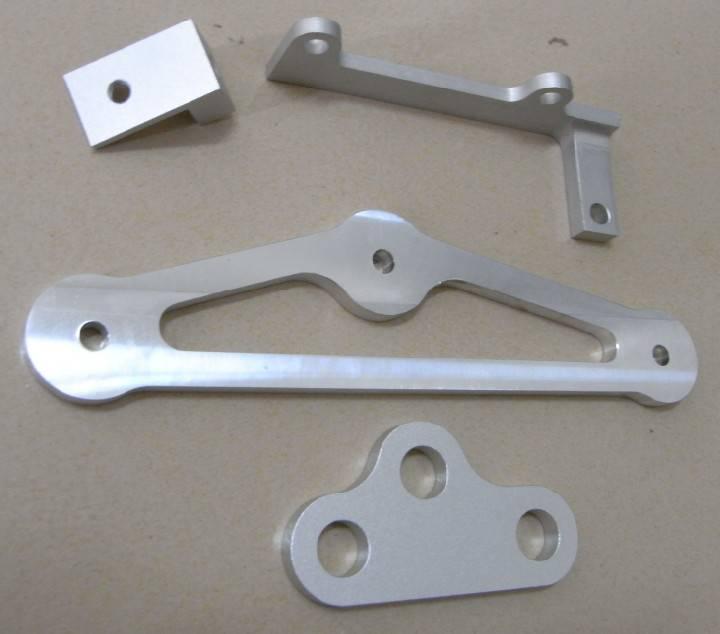 CNC Milling Aluminum Brackets