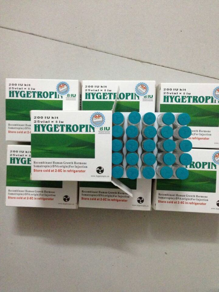 Good Quality Hygetropin HGH 200iu CAS12629-01-5 Human Growth Hormone For Bodybuilder