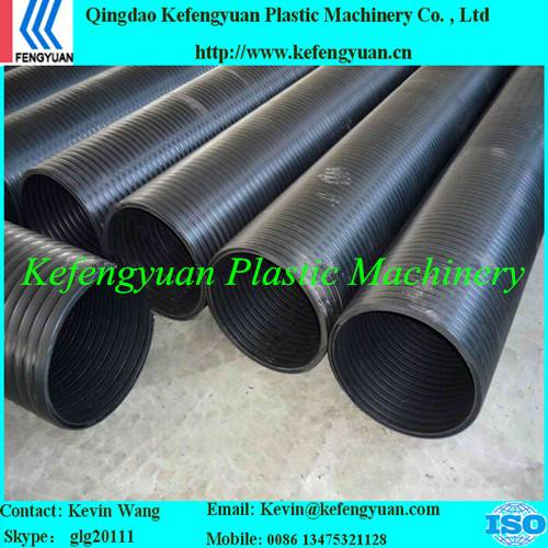 KFY large diameter hollow wall winding pe hdpe pipe tube plant