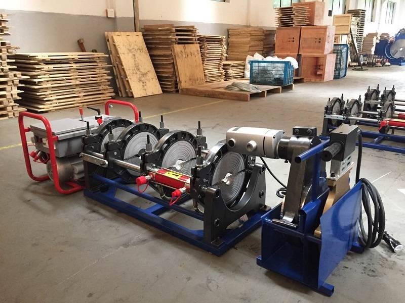 SUD250H hdpe pipe welding machine