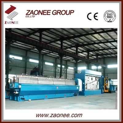 copper wire breakdown machine withe annealing machine