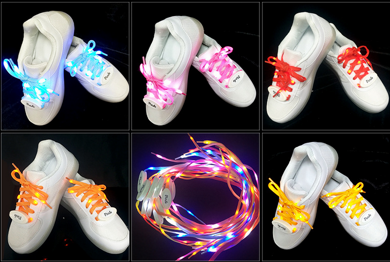 Best Promotion Led gifts LED Shoe Laces for Night Running