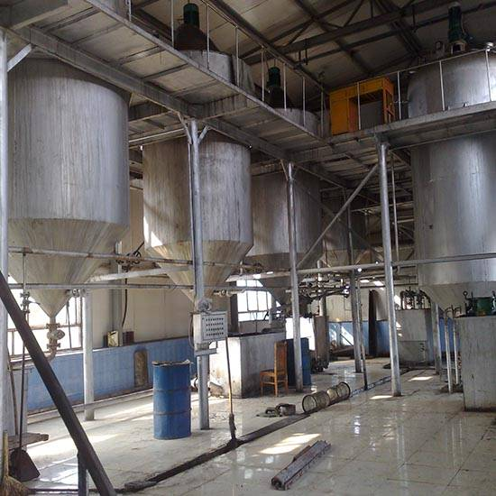 1-30T/D edible oil refining equipment