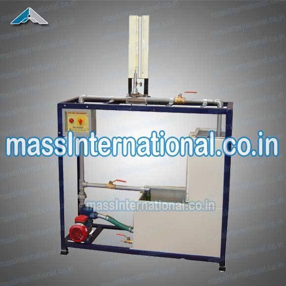 Pitot Static Tube Apparatus  (FM-06 )