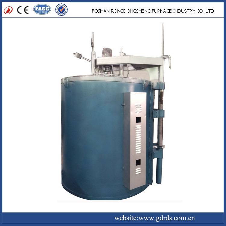 ndustrial furnace pit type gas carburizing furnace for carbon steel parts