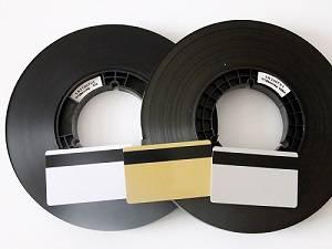 Black magnetic stripe