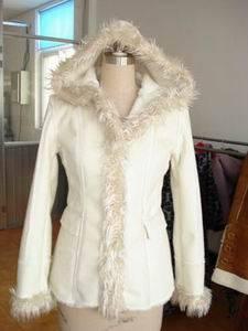 lady's fashion fur coat-1