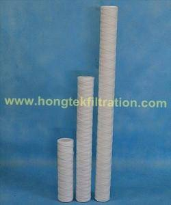 String Wound Filter Cartridges / Wound Yarn Cartridges / Wound Cartridges/ Wound Filter/String Filte