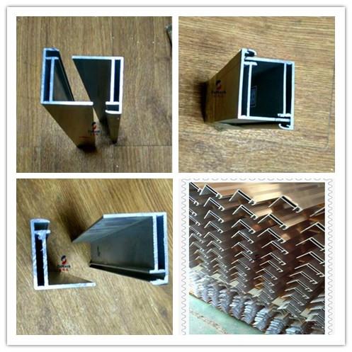 6063 Extruded Aluminum Enclosure Customized Design Coating 6.5 Meters