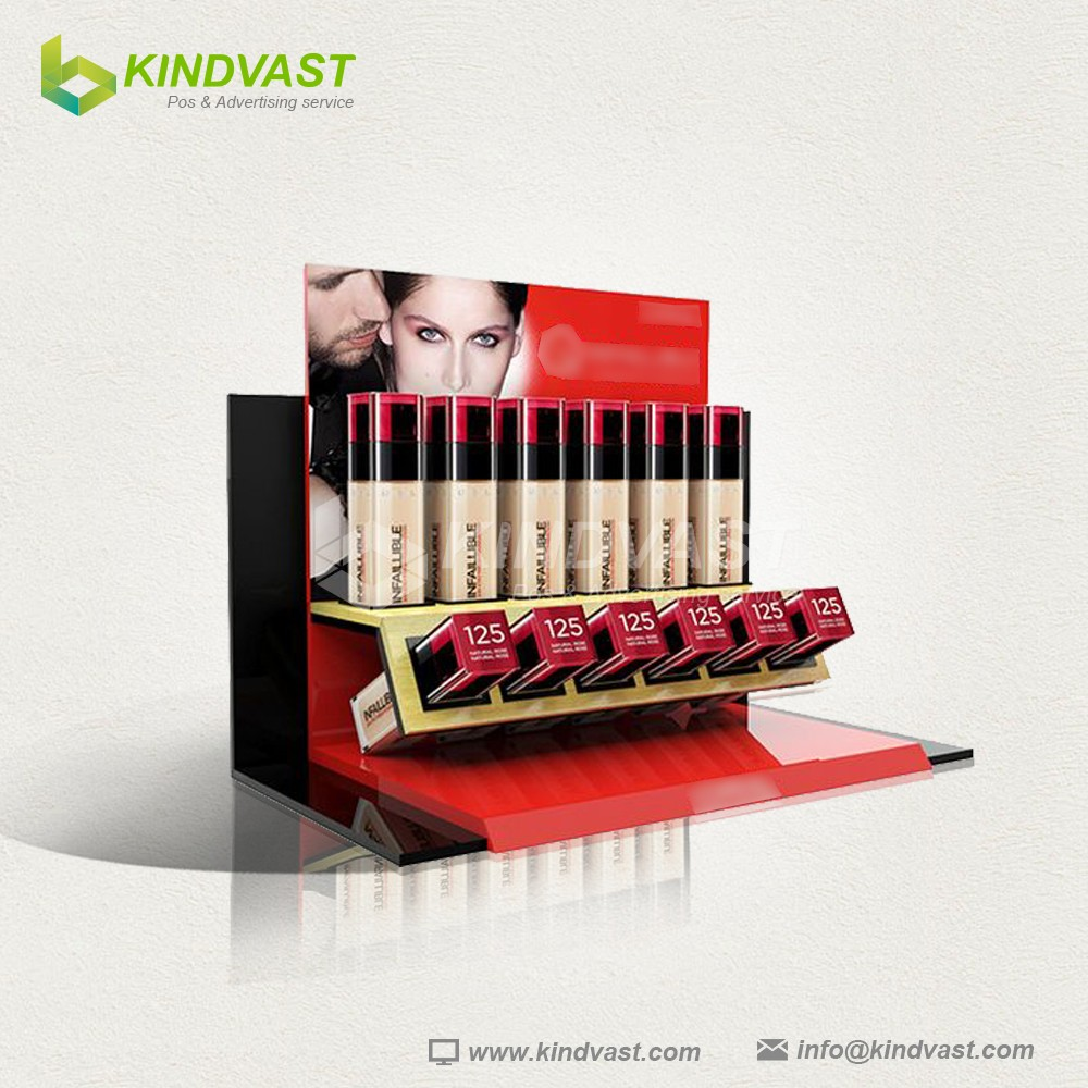 Good Quality Luxury Corrugated Custom Counter Paper Display for Lipstick