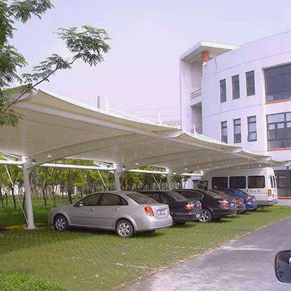 PVC soft and durable car parking shades