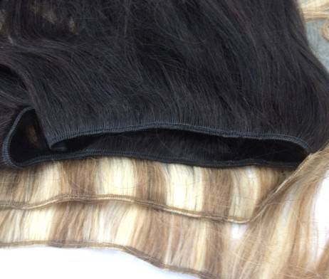 The best Double drawn Machine weft straight Vietnamese Human hair