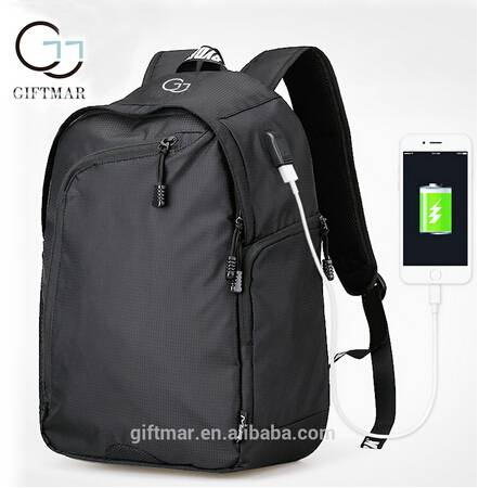 portable auxiliary charging function backpack shoulder bag