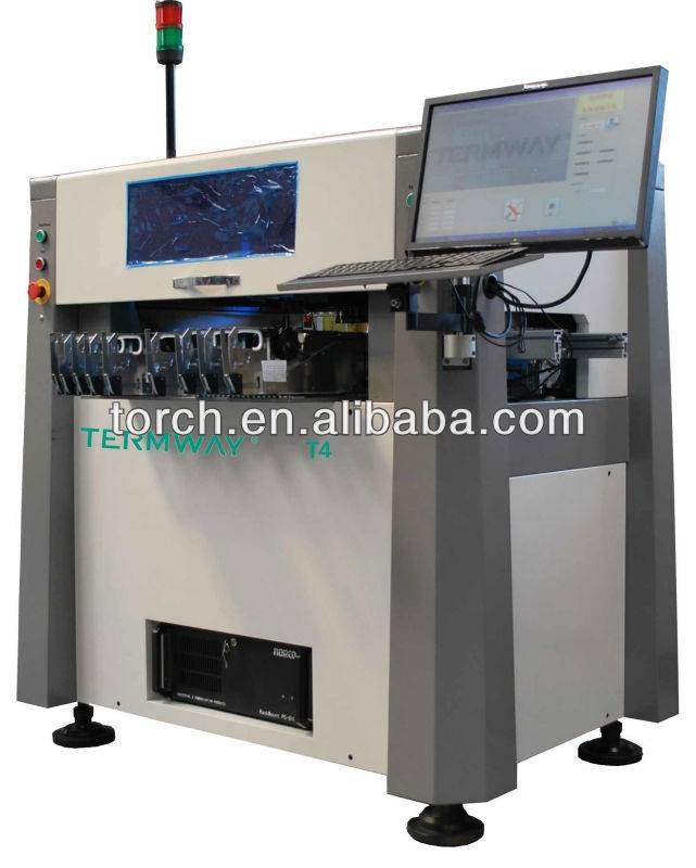 automatic visual high precision pick and place machine for 0201 Component  T4 (Torch)