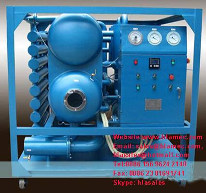 Online Transformer Oil Treatment Machine