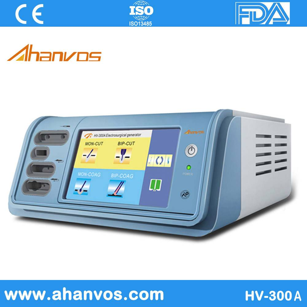 Electrosurgical Units Suctiton&Irrigation HV-300A LCD with High Quality