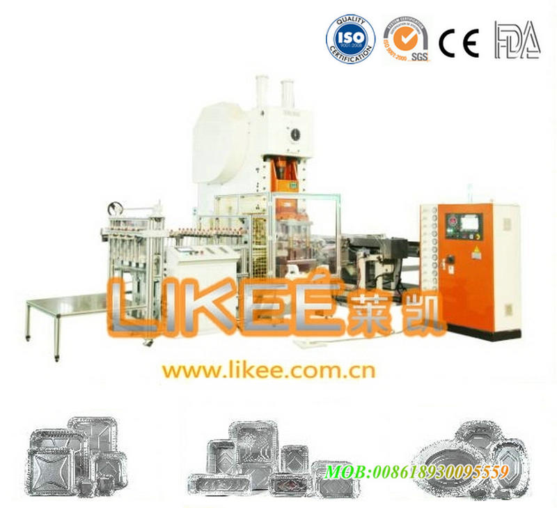 Aluminium container making machine LK-T63