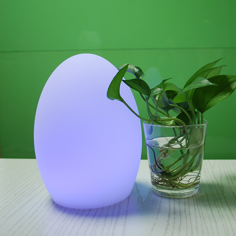 Multi Color Touch Switch Fashionable Decoration Wireless Cordless LED Table Lamp