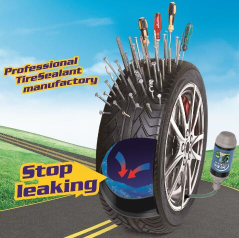 Anti-freezing and Non-Corrosion 25L QiangBao® Tubeless Tire Sealant
