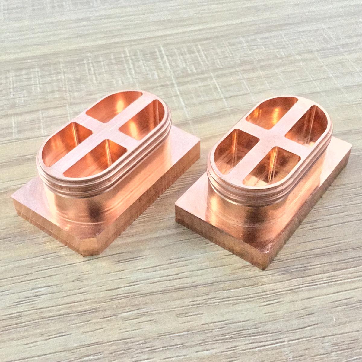 CNC 5-Axis machining electroplating rapid prototype