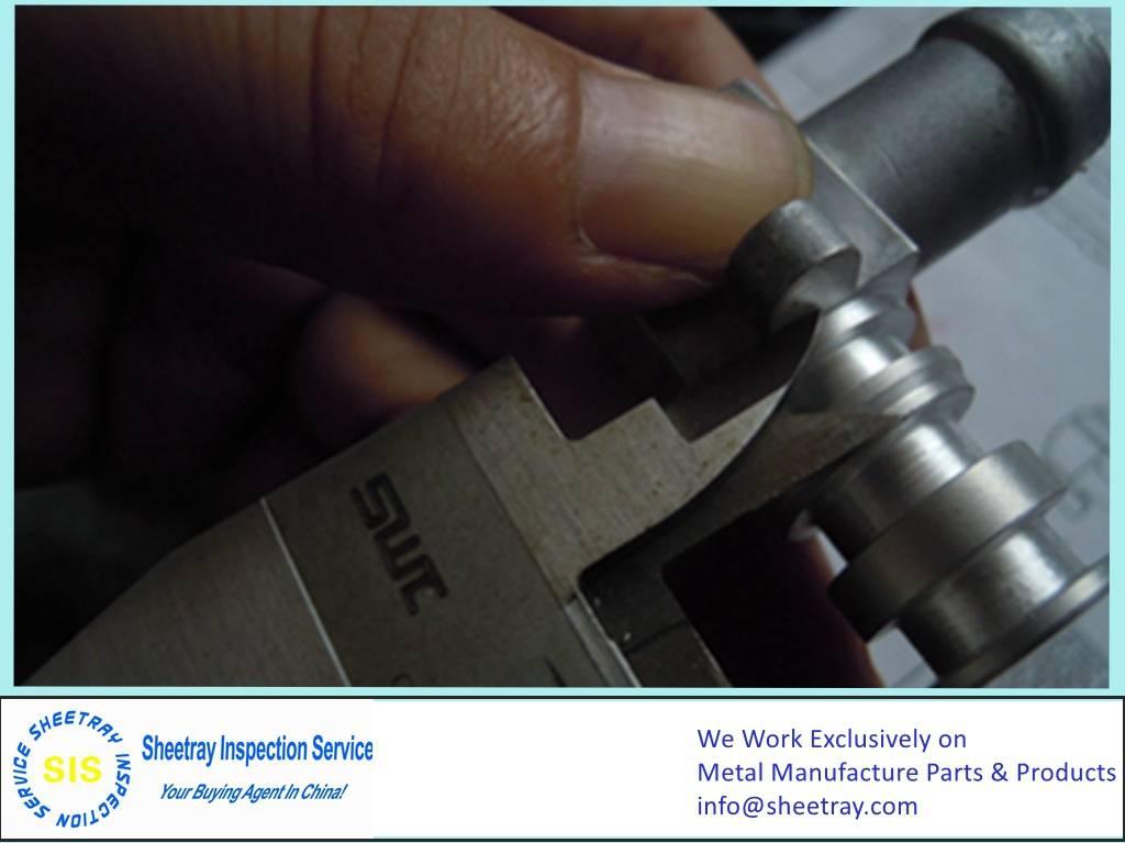 First Article Inspection (aluminum cast part)