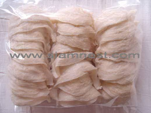 White house bird's nest (Thai)  grade no. 1 (500 g.)