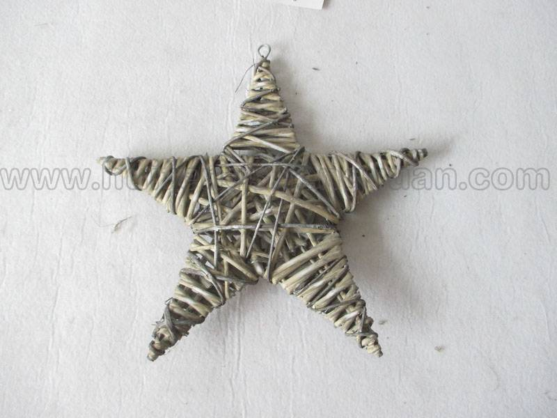 star shape wall hanging willow decoration product
