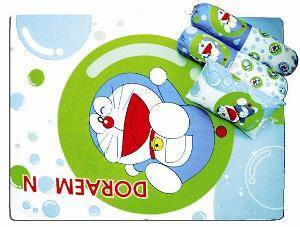 Doraemon 4 Pcs Play Pen Mattress Set
