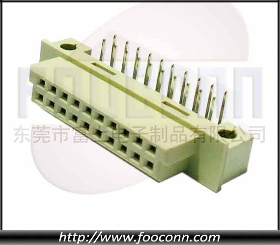 DIN41612 Connector 20P Female Right Angle