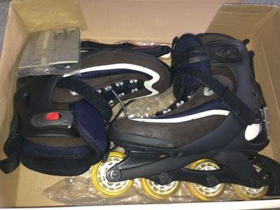 NEW Men's ROLLERBLADE KitAlpha in-line skates