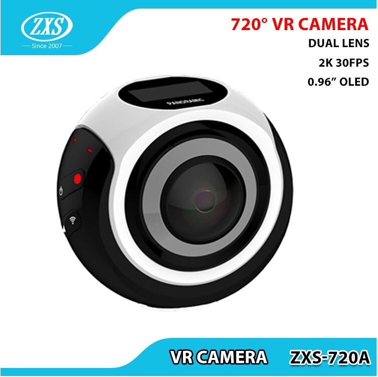 360 camera Wireless VR Action Waterproof Outdoor Sports DV Player 16MP 3D WiFi 4K 360 Panoramic Cam