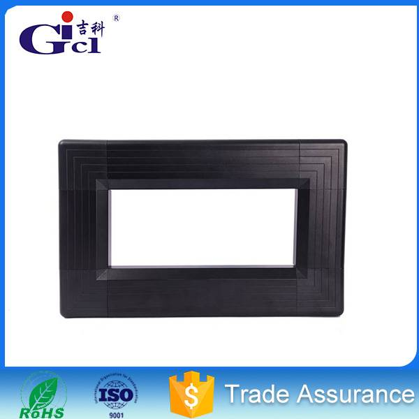 Gicl 70100 full color led display frame aluminum extruded anodized semidoor screen aluminum profile