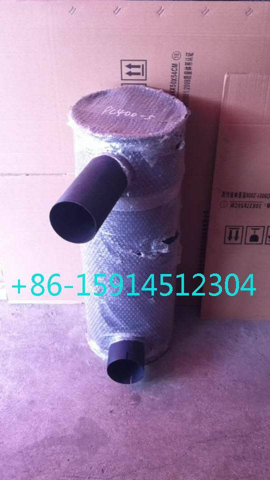 komatsu PC400-6 muffler with clamp 6152-12-5360