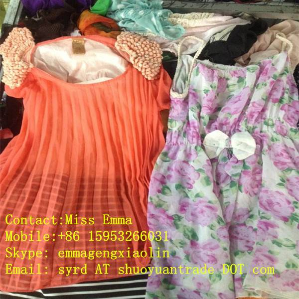 2014 quality used clothing taiwan wholesale clothing suppliers