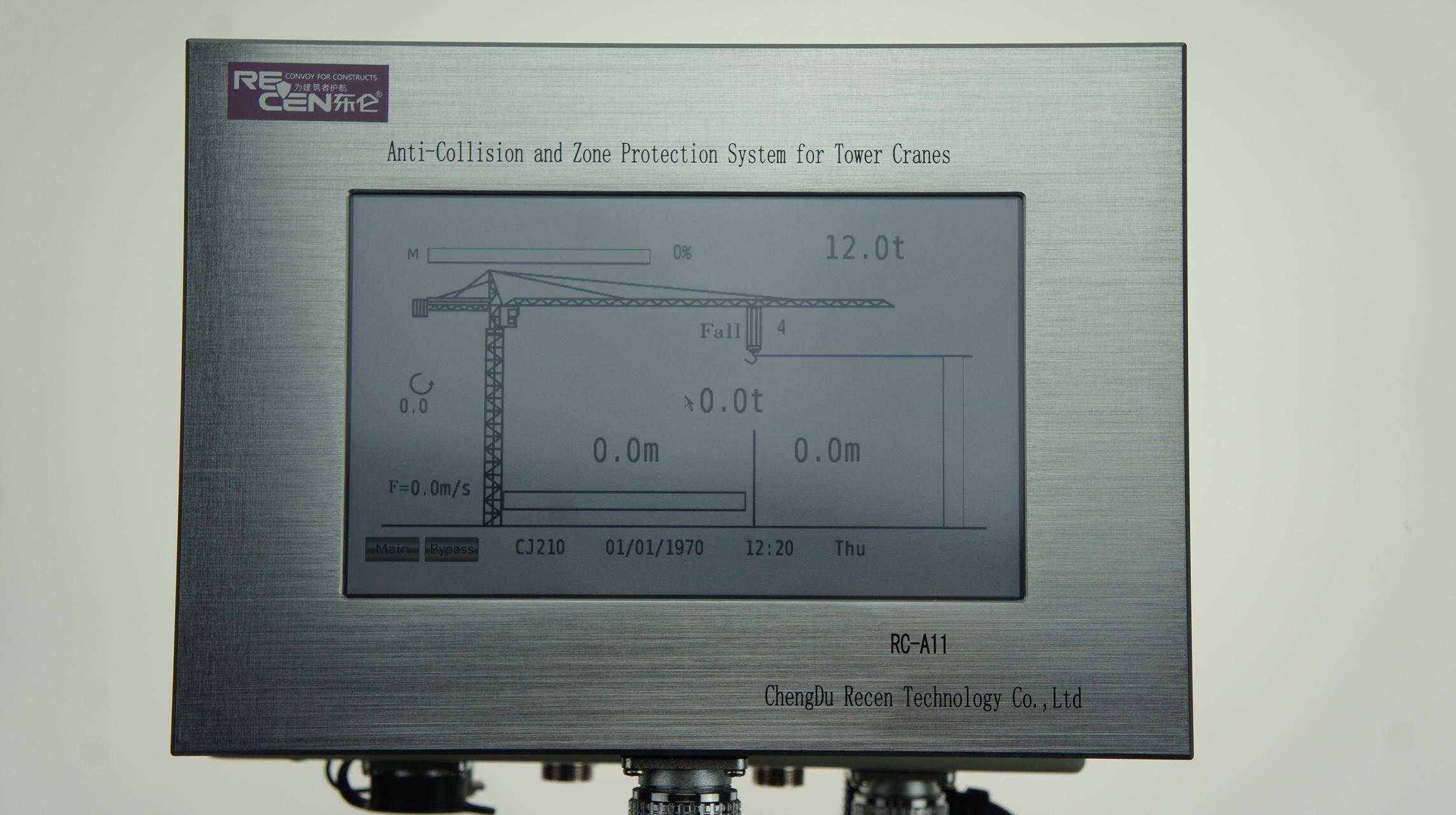 tower crane load moment indicator