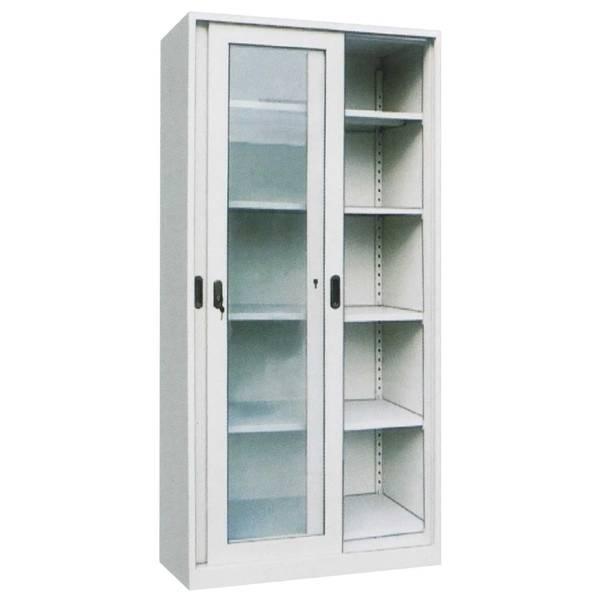 Glass Sliding Door Steel Body Filing Cabinet Luoyang