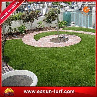 Anti-UV Synthetic grass lawn decor and fake lawn with SGS -ML