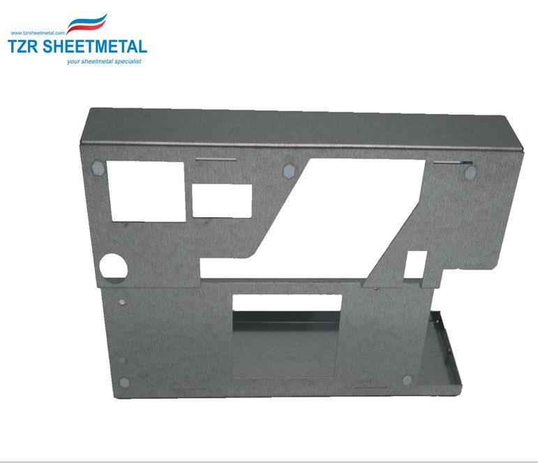Custom sheet metal Aluminum parts sheet metal fabrication metal stamping parts