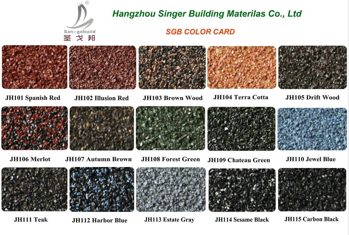 stone coated metal tiles from high quality china factory