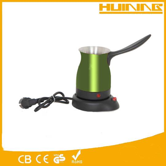 Travel used electric coffee pot coffee urn with stainless steel material