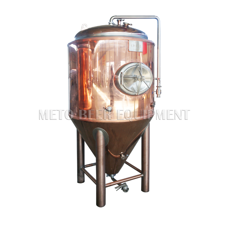300L 500L hot selling copper beer fermentation tank for craft beer brewery equipment