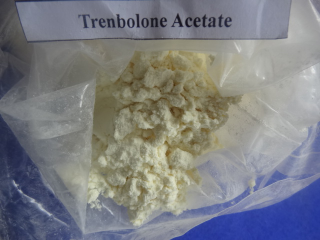 Super Discreet Steroid Trenbolone Acetate light yellow crystalline Muscle building Powder