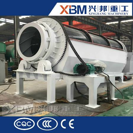 XBM high performance trommel screen /rotary screen /drum screen