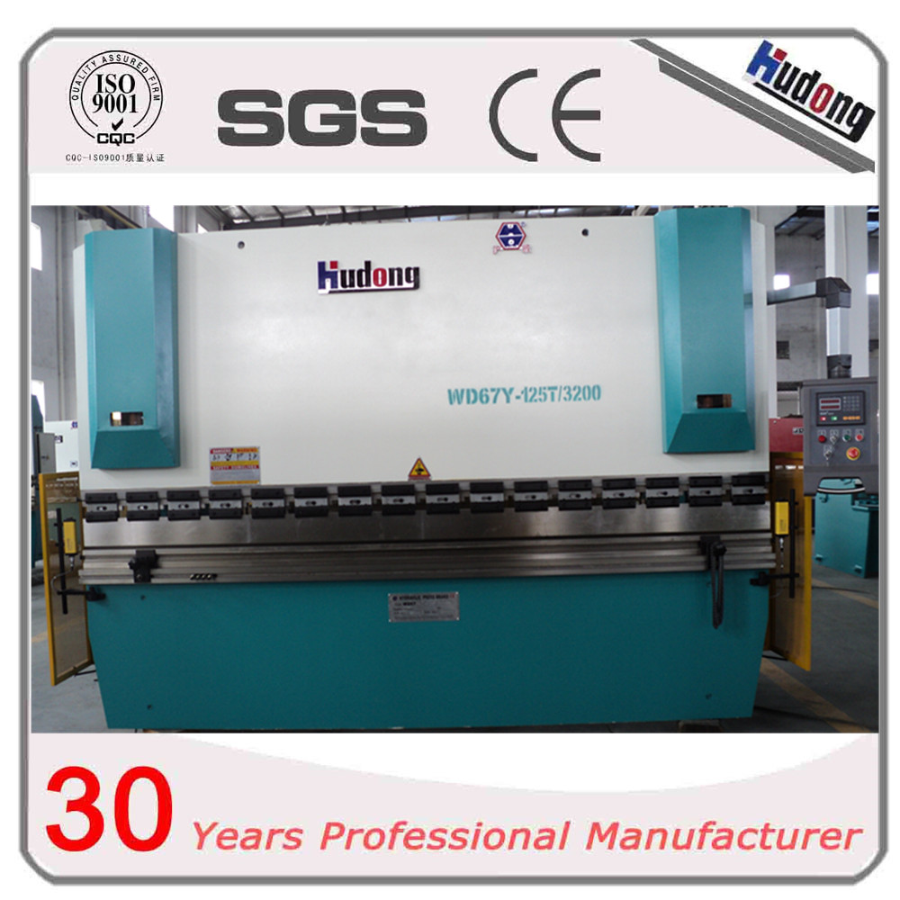 New design simple hydraulic CNC sheet metal bender