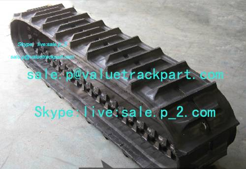 Yanmar Undercarriage Parts Rubber Track Rubber Crawler