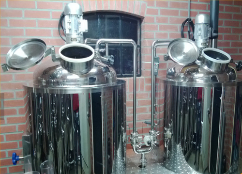 1000L beer brewery system with fermentation tank